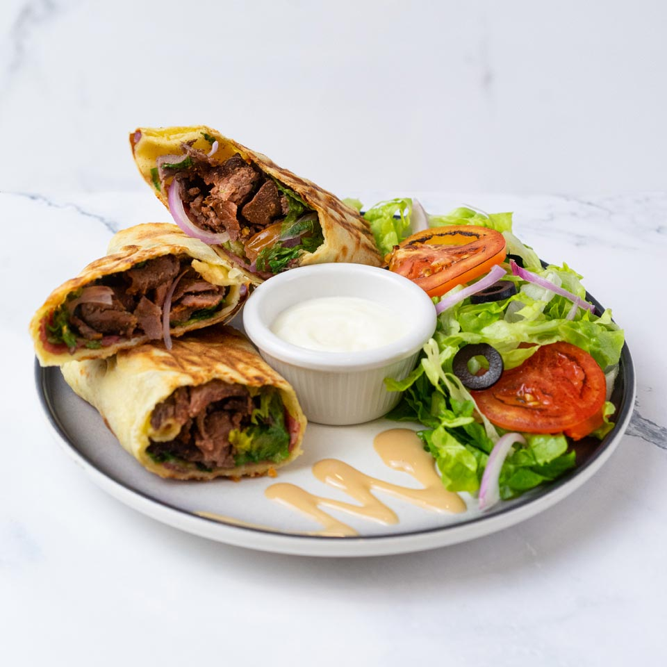 Dandy Mediterranean Beef Wrap